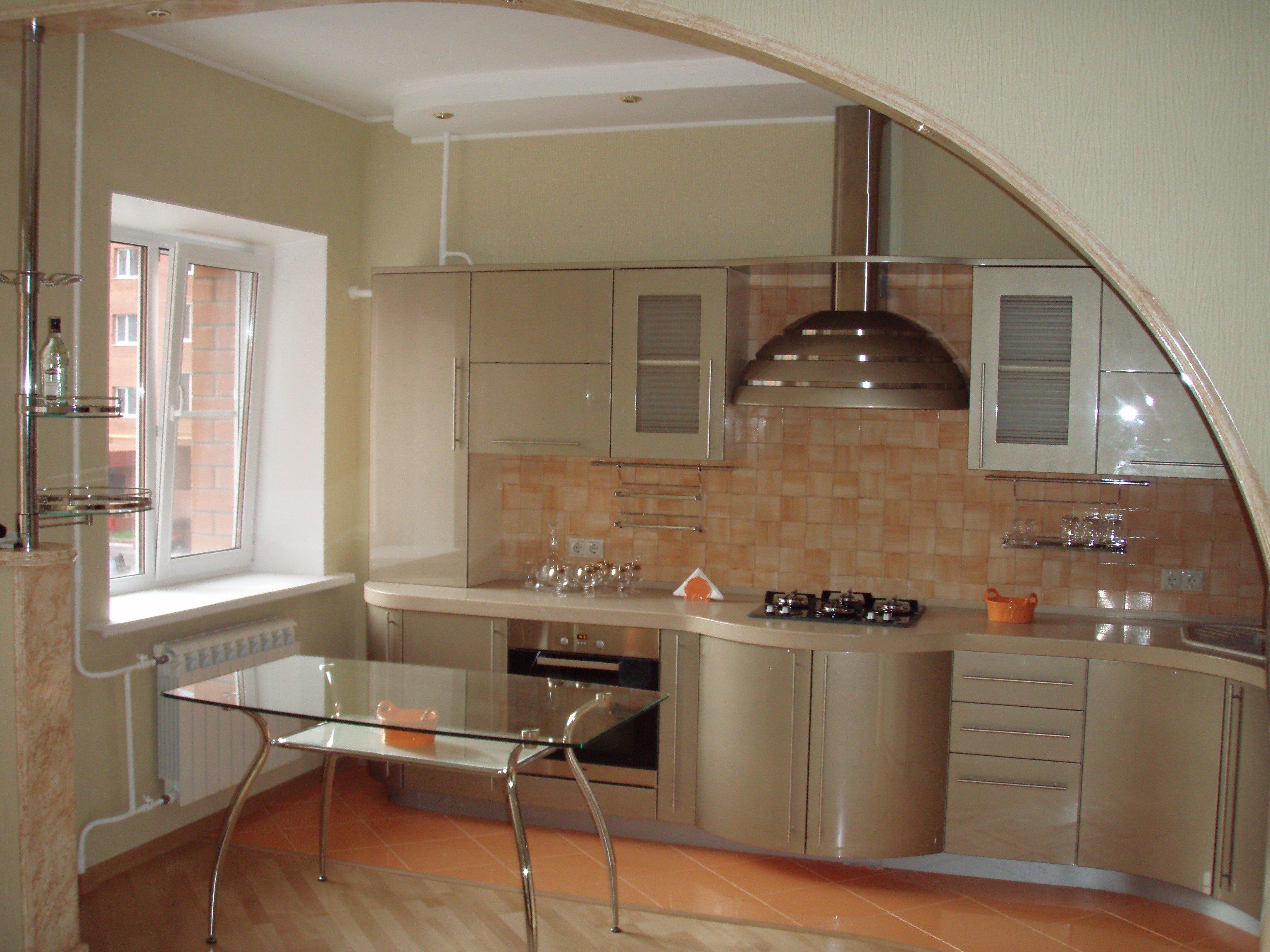Арка на кухню-фотогалерея (реальные фото примеры)