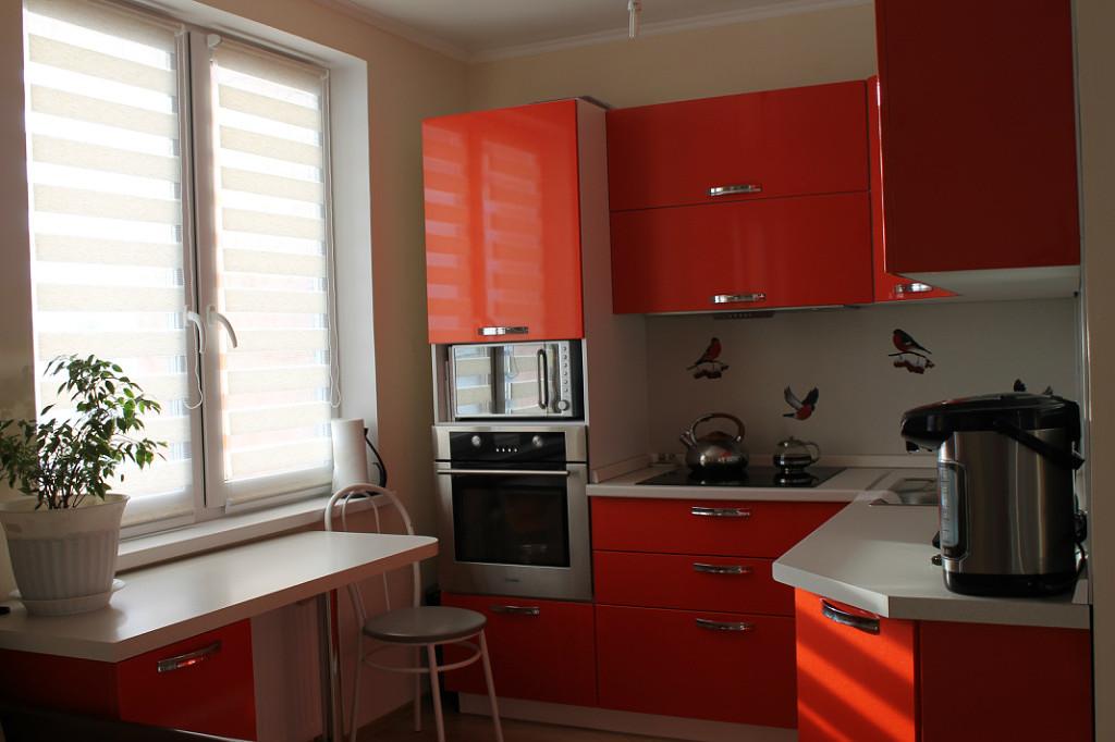 Оранжевая кухня: правила обустройства, 100+ реальных фото примеров