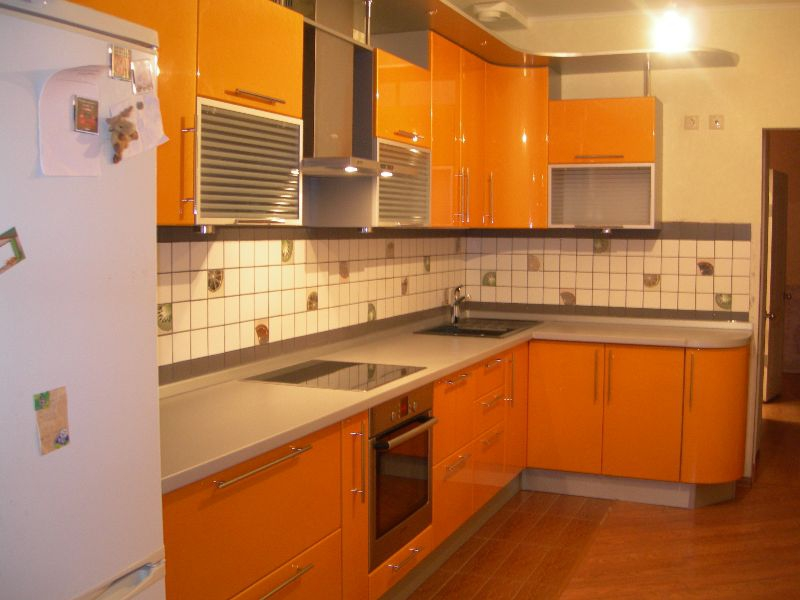 Дизайн кухни персикового цвета: 100+ фото примеров, полезные советы по оформлению