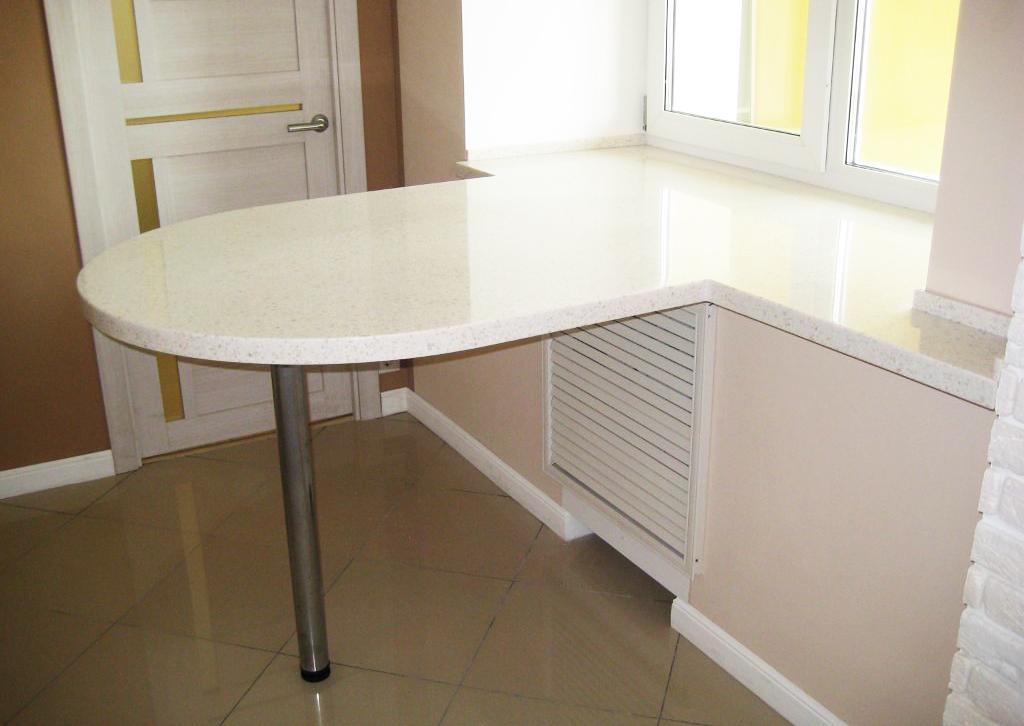 стол из столешницы для кухни фото они признаны самыми